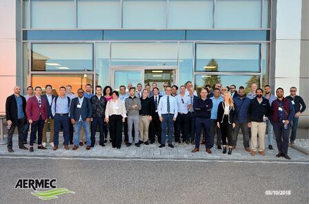 Aermec Training 2018 Group 2